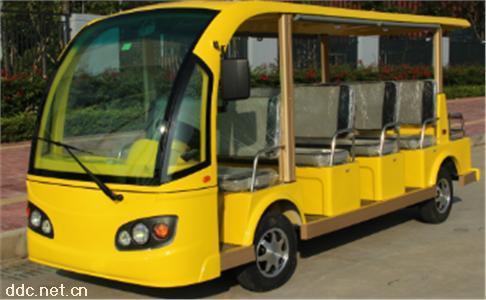 沃森11座黄色电动观光车
