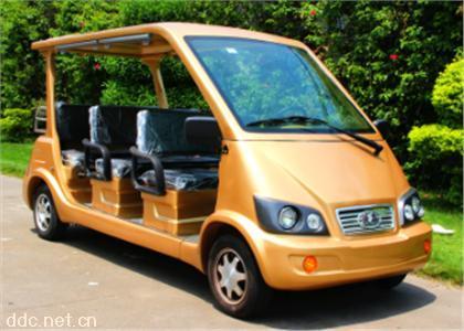 金色8座电动观光游览接待车