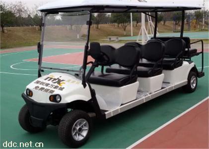 沃森白色8座高尔夫款电动观光车