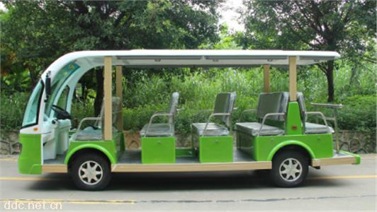 沃森6排14座电动观光游览车景