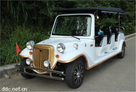 11座珍珠白色電動看房老爺接待車