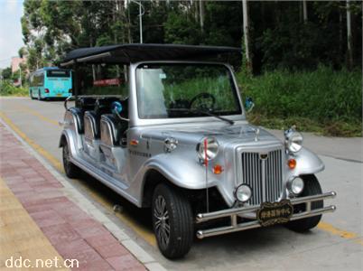 沃森银灰色11座电动豪华国宾⌒老爷车