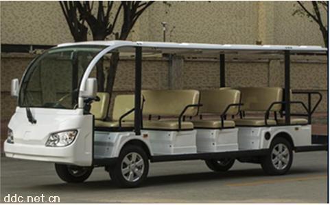 全铝地盘14座电动观光游览接待车