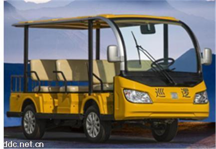 沃森新款黄色8座电动观光车