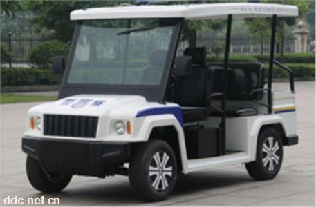 2021款电动巡逻车保安物业用4座