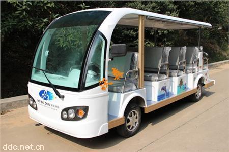 11座电动旅游观光车旅游景点使用摆渡车