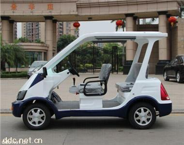 4座电动巡逻车免维电池执法车直销