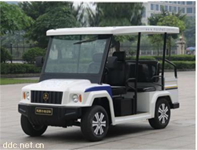 悍马款电动巡逻车进口配制免维电池