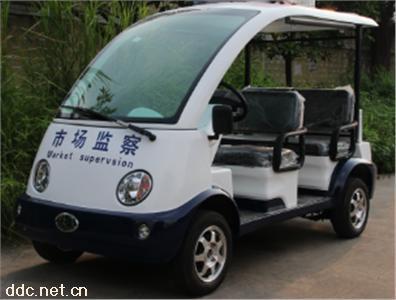 沃森蓝白色4/5座电动巡逻车系列
