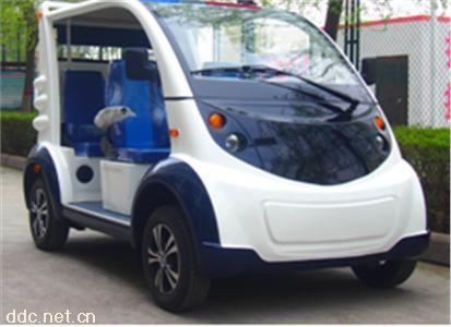 2021款5座电动保安物业厂区巡逻车