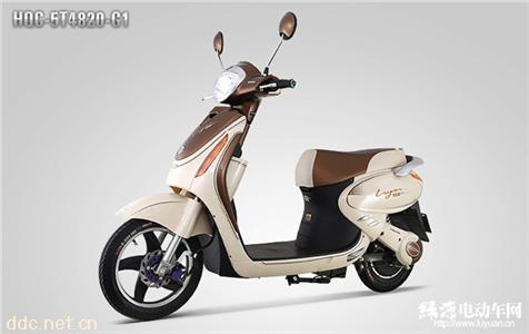 绿源电动自行车云裳HQC-5T4820-G1