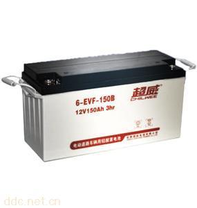 超威电动助力车动力铅酸蓄电池6-EVF-150B
