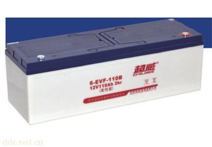 超威电动助力车密封铅酸蓄电池3-EVF-110B
