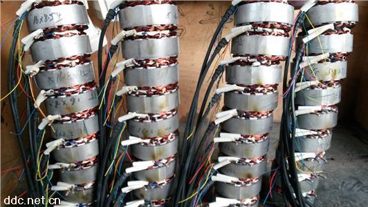 三轮电机焊接实物JDTQ-3