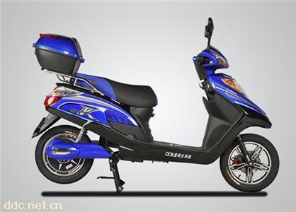 新日电动车征服者K340电动自行车