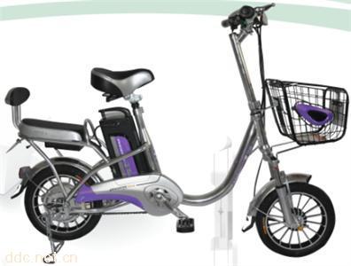 凤凰铝独弯电动自行车