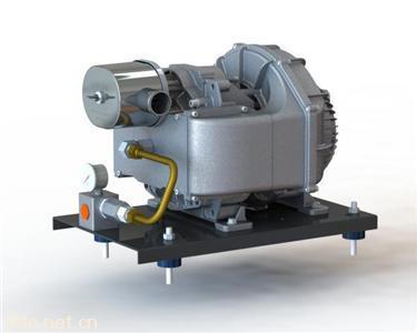 新能源车制动气泵无油涡旋空气压缩机