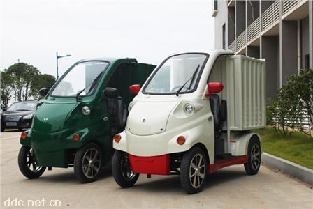 新款电动四轮微型货运车