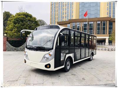厂家直销18-23座观光车旅游景区酒店接待电动巡逻
