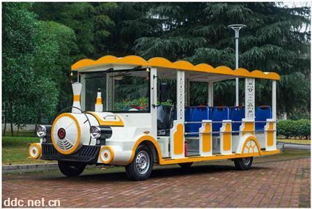 湖南厂家直销燃油旅游观光车景区摆渡车特色火车18座观光车
