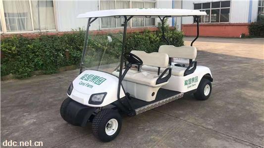 电动高尔夫观光车,4座电动游览车,景区游览观光车