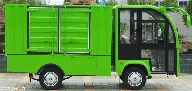1T电动厢式货车