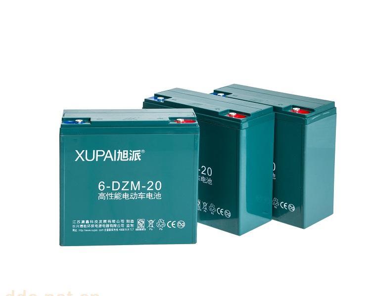 旭派电动车电池12V20AH 18个月质保