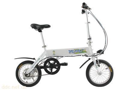 14寸36V铝合金锂电池电动自行车