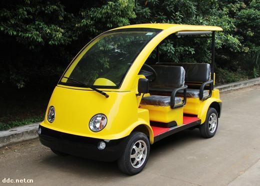 四轮电动敞篷旅游观光车