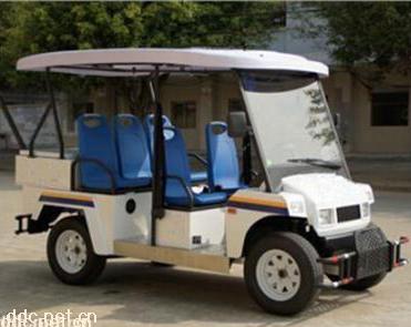 软皮座椅5座电动越野巡逻车