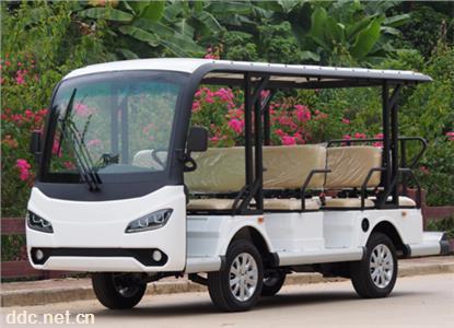 主題公園使用8座電動觀光車