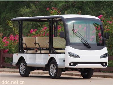 景區公園使用8座電動觀光車