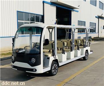 景区厂区17座电动观光车