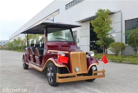 苏州厂家生产8座豪华电动老爷车
