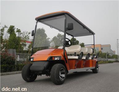 8座敞开式观光车电动高尔夫球车