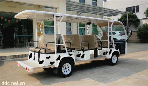 14座景区观光车敞开式观光车