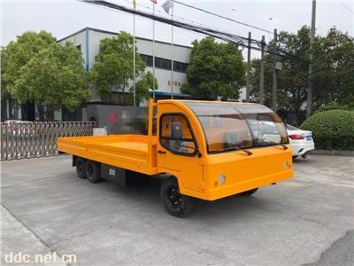 5吨电动平板车利凯士得五吨搬运车