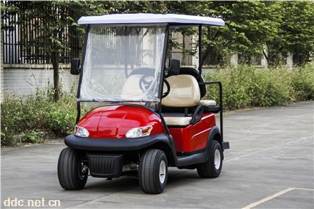 新款2座电瓶高尔夫四轮电瓶高尔夫球车