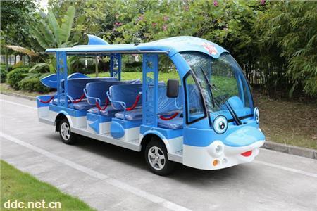 卡通造型的游览观光车