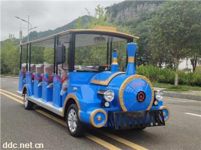 利凯燃油14座观光车、14座燃油车定制