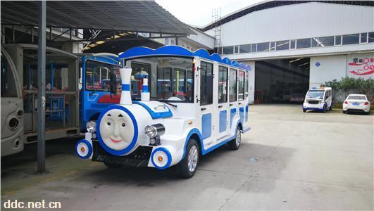 托马斯14座电瓶小火车、全封闭电瓶游览观光车