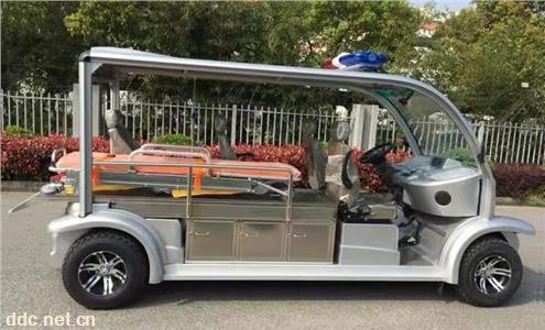 小区疫情防控电动救护车