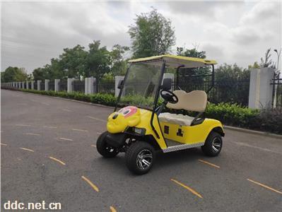 游乐场动物园游览电动高尔夫球车