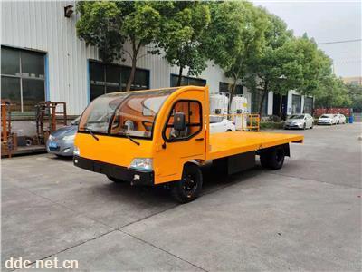 陕西5吨电动载货车  厂区内产品转运平板车