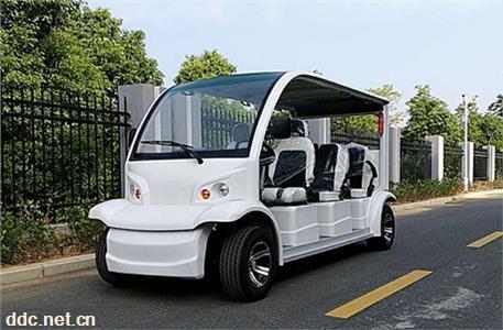 八座带门电动观光车 不带门电动观光车