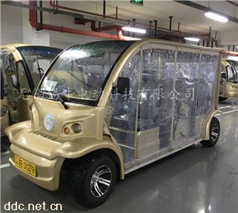 四轮观光电动车衣罩遮雨帘订购