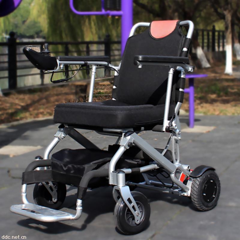 斯维驰老年人电动轮椅锂电池轻便折叠