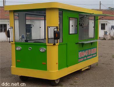 电动餐车小吃车流动售货车商亭