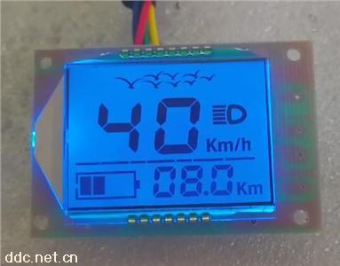 两轮电动车4432液晶屏模组仪表