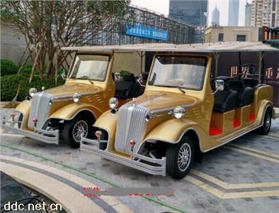 上海电动看房接待老爷车,电瓶豪华四轮别墅看房老爷车